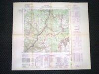 Grande carta topografica Castelrotto o Kastelruth Bolzano Dettagliatissima IGM