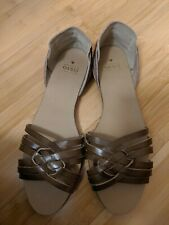 BNWT Ladies Brown Leather Flats / Pumps - Oasis - UK Size 6/39 RRP £28