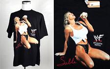 "NEW Vintage Sable WWF XL 1998 T Shirt Female Wrestling Licensed 90s DIVA NWT 23"""