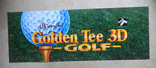 "GOLDEN TEE  3D GOLF   26 -  91/2"" arcade game sign marquee cF36"
