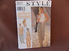 Style Misses Jacket, Top & Pants Sizes 6-16 Uncut Pattern 2614