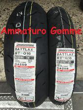 COPPIA 120/70 17 180/55 17 DOT 2020Pos +OMAGGIO BRIDGESTONE BT016 PRO GOMME MOTO
