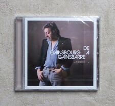 "CD AUDIO MUSIQUE / SERGE GAINSBOURG ""DE GAINSBOURG À GAINSBARRE"" CD COMPILATION"