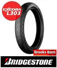For Honda CL 350 1968-1973 Bridgestone Exedra L303 Front Tyre (3.00 -19 4PR) 49S