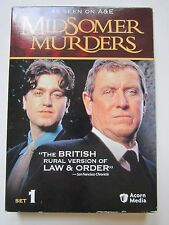 Midsomer Murders Set 1 3 DVD Set As Seen On A&E UK Law & Order