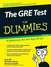 The Gre Test For Dummies (For Dummies (Career/Education) by Suzee Vlk, Michell