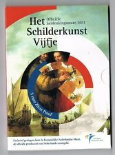 5 EURO HET SCHILDERKUNST VIJFJE 2011 ZILVER PROOF BLISTER