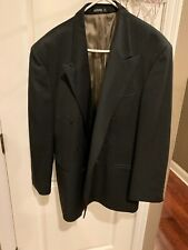 Kasper Mens Green Dinner Suit Jacket Size 44R Made In Canada