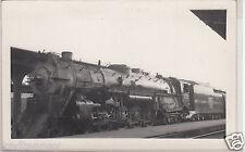 RPPC - C.B.&Q. Railroad Locoomotive - Denver - 1940