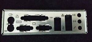 Motherboard Backplate IO I/O shield Plate with the measurement #1