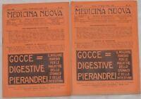 RIVISTA MEDICINA NUOVA CHIRURGIA MALARIA PROIBIZIONISMO
