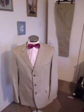 """STONES Men's Sand 2-Piece Suit (EUR54) C44"""" Regular W40"""" L34"""" Classic Fit Cotton"""