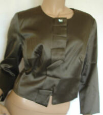 Cotton Cropped Formal Coats & Jackets for Women