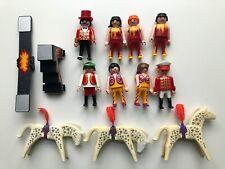 Playmobil Circus lot of figures, 4236,3742, Acrobats, Horses, Ringmaster, Zirkus