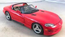 Burago 1/18 Dodge Viper RT/10 Red Diecast Car