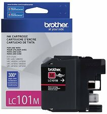 Brother LC101M LC-101 Magenta Ink Cartridge DCP-J132W Genuine New Sealed