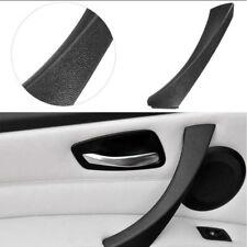 for BMW E90 3-Series Sedan Black Left Inner Door Panel Handle Outer Trim Cover
