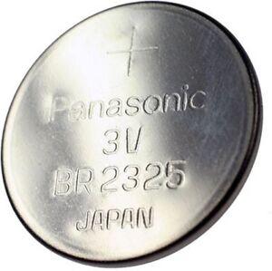 Panasonic Lithium-Knopfzelle BR2325