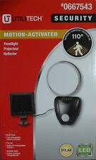 Utilitech Solar LED Motion-Activated Light With Timer Flood Lighting NEW