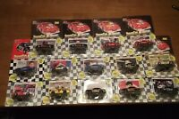 RUSTY WALLACE + 13 MORE MISC 90'S RACING CHAMPIONS CARS UNOPENED 1/64 SCALE