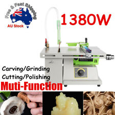 1380W Jewelry Stone Woodworking Carving Polisher Buffer Grinding Cutting Machine