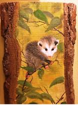 """Hanging Out Opossum"" Original Painting"