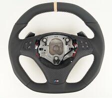 Le TEF ® volante de cuero para bmw m performance e82 e84 e87 e88 e91 e92 e93 m1 m3
