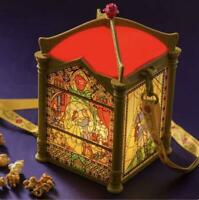 2020 Tokyo Disney Land Limited Beauty & the Beast Popcorn Bucket