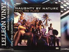 "Naughty By Nature Feel Me Flow 12"" Single Vinyl 8122-74786 Rap Hip Hop 90's"