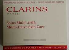CLARINS  Multi-Active Skin Care Set.