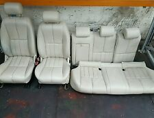 2004 2006 JAGUAR S TYPE 4 DOOR SALOON CREAM LEATHER INTERIOR REF DB704 #485