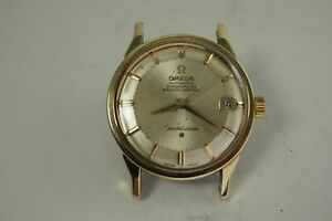 OMEGA 168.005 CONSTELLATION GOLD TOP STEEL CASE AUTOMATIC C. 1963