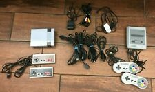 NINTENDO NES MINI (30 GAMES INSIDE) + SNES FAMICOM W/ 2 CONTROLLERS & OTHER