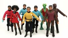"1974 STAR TREK 8"" mego figure -- Kirk McCoy Scottie Spock -- HEAD BODY ARM LEG"