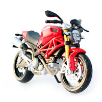 1:12 Ducati Monster 696 Assembly Kit Motorcycle Bike Model Toy New Box Gift Red