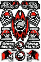 Rc Car Body Stickers Decal Sheet For Tamiya Fast Attack Wild Willy Hotshot One