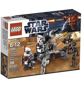LEGO Star Wars 9488 Elite Clone Trooper & Commando Droid Battle Pack Retired Set