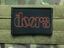 The Doors Morale Patch Tactical Military Hook Badge Flag USA Classic Rock