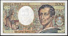 1992 France 200 Francs Banknote * 2908135550 * gF+ * P-155e *