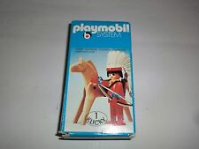 Playmobil Klicky 3351 Indios con caballo Arco Flechas Años 70 80er Jahre