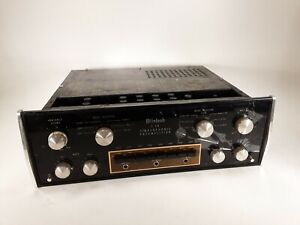 McIntosh C28 Vintage Stereo Preamplifier - C-28 PreAmp - For PARTS/REPAIR READ