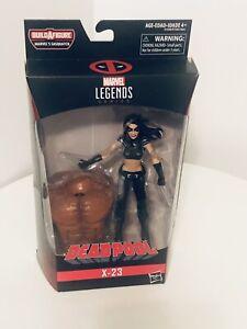 Marvel Legends Deadpool X-23 Wolverine 6' Figure BAF Sasquatch Brand New