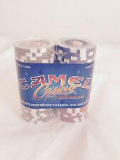Camel Casino Las Vegas Nevada Poker Gamble Game Chips Play Red Blue Gray