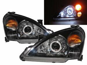 Aerio/Liana 2002-2007 4D/5D CCFL Projector Headlight Black for SUZUKI RHD