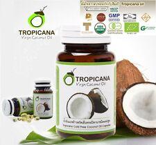 Tropicana Virgin Cold Press Coconut Oil 100% Healthy Premium Quality Capsule