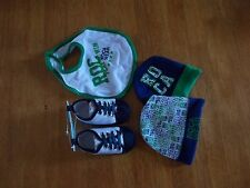 Baby Boy Roca Wear Set NWOT Blue, Green, and White