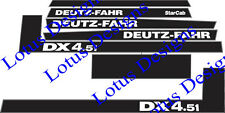Deutz fahr DX4.51 autocollants/decals