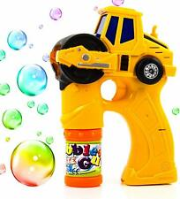 Toysery Engineering Bubble Shooter Gun Automatic Bubbling Toys for Kids Ages 3+