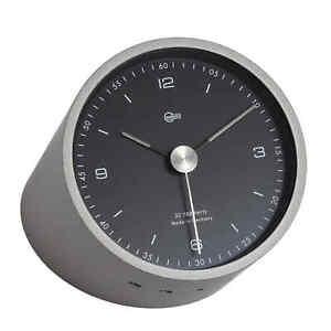 Barigo Pentable Table Clock Brass H X W: 146 X 96 MM