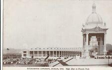 a irish dublin old postcard ireland eucharistic congress 1932